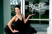 Pacific Ballet Conservatory Ribbon Cutting 2-12-12