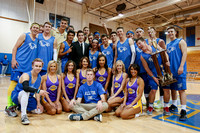 SMCHS Winter Rally with the Laker Girls - Jan 2014